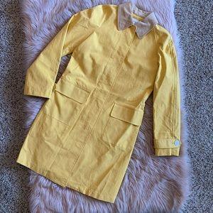 Target: Isaac Mizrahi NWT Yellow Trench size S